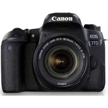 Canon EOS 77D DSLR Camera (EF-S 18-55mm f/4-f/5.6 IS STM Kit Lens)