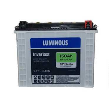 Luminous ILTT18048N 150Ah Tall Tabular Inverter Battery - White