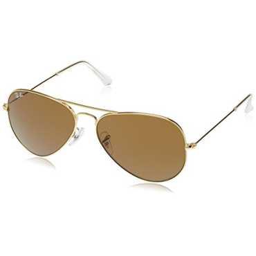 Aviator Sunglasses (Golden) (RB3025|L9797 58)