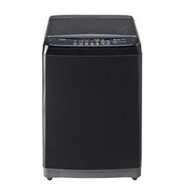 LG 7 kg Fully Automatic Top Load Washing Machine (T8081NEDLK) - Black