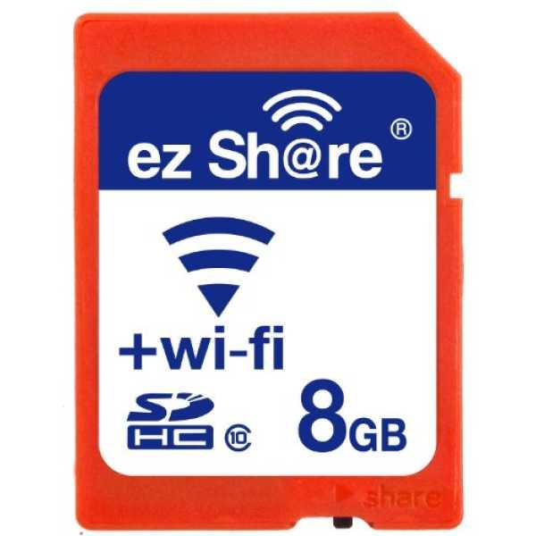 ez Share 8GB Class 10 WI-FI SDHC Memory Card