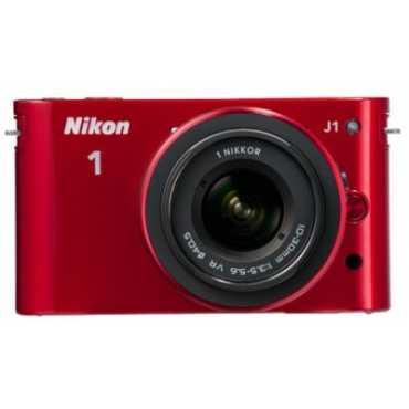 Nikon 1 J1 Mirrorless Camera (with 10-30 mm Kit Lens) - Black