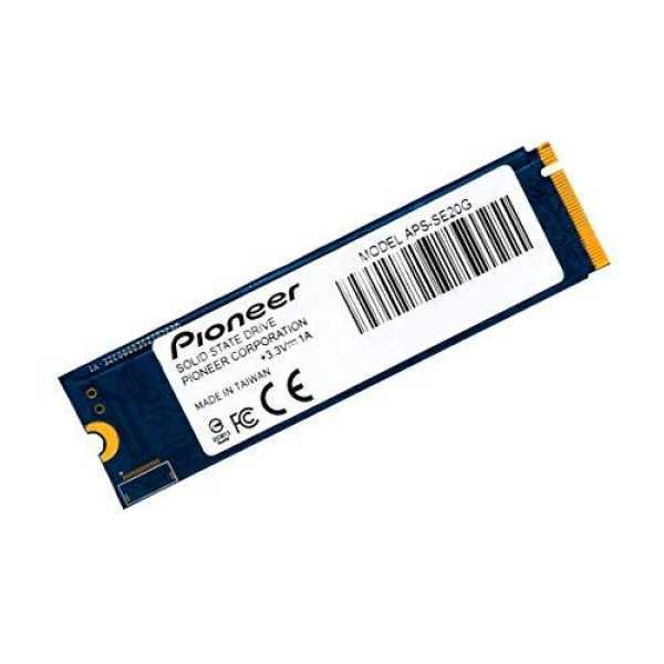 Pioneer APS-SE20G-256 256GB NVMe PCIe Gen 3x4 M.2 Internal Solid State Drive