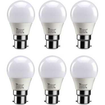 Syska 3W Standard B22 300L LED Bulb White Pack of 6