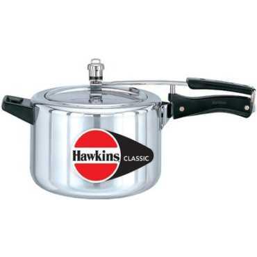 Hawkins Classic CL50 Aluminium 5 L Pressure Cooker (Inner Lid)