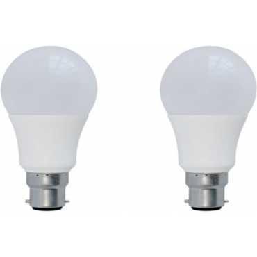 Syska 3 W B22 LED Bulb Warm White Plastic Pack of 2
