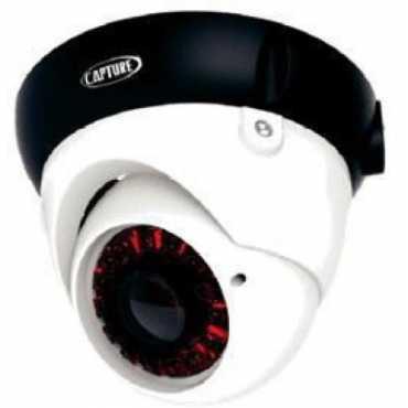 Capture CTCDCS1000IRM36 1000TVL IR Dome CCTV Camera
