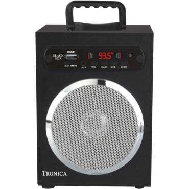 Tronica Spectrum Black Box MP3/SD Card/AUX/FM Player - White   Grey