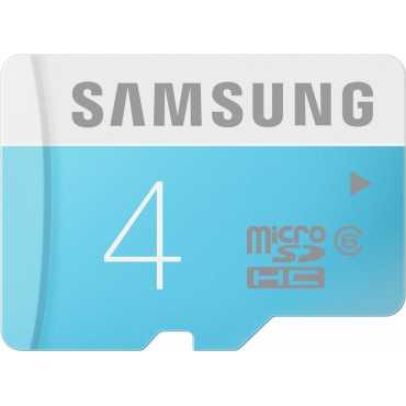 Samsung 4GB MicroSDHC Class 6 (24MB/s) Memory Card - Blue