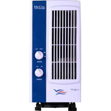 McCoy TF-2017 Tower Fan - White, Blue