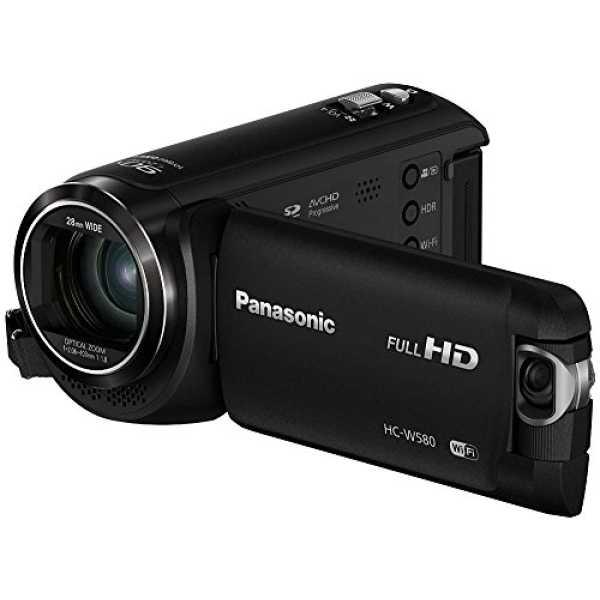 Panasonic HC-W580 HD Camcorder - Black