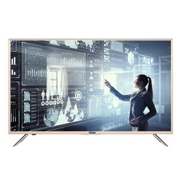 Haier (LE32K6500AG) 32 Inch HD Smart LED TV - Black
