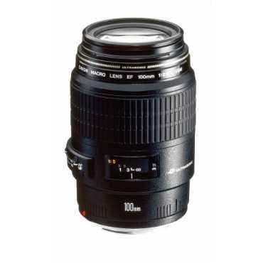 Canon EF 100mm f/2.8L Macro IS USM Lens - Black