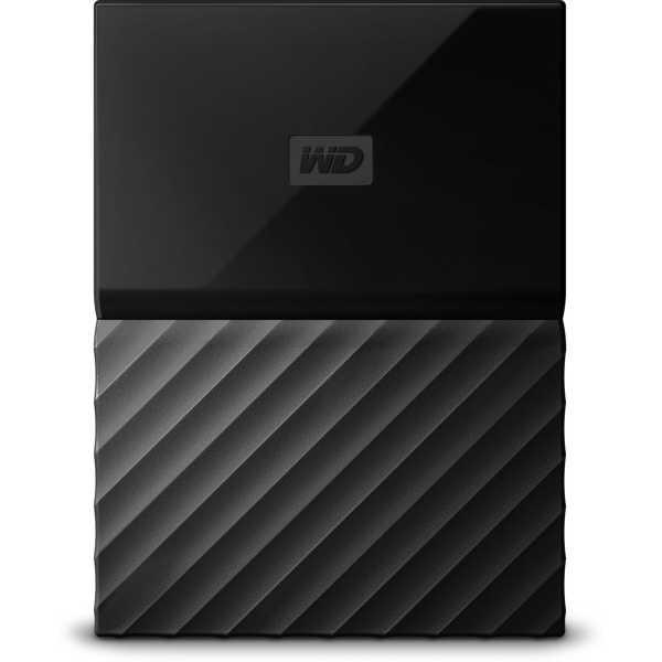 WD My Passport WDBYFT0040B-WESN 4TB Portable External Hard Drive