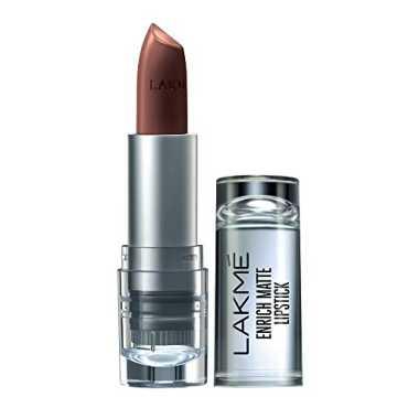 Lakme  Enrich Matte Lipstick (Shade BM12)