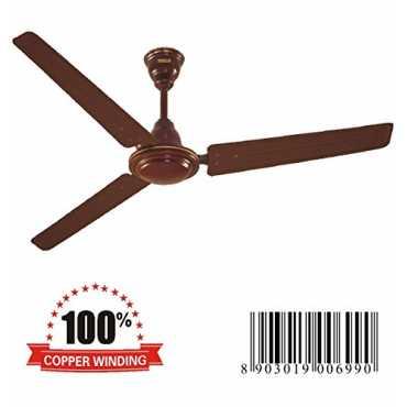 Inalsa Astir 3 Blade Ceiling Fan - White | Brown