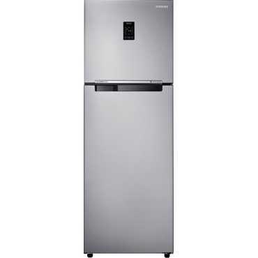 Samsung RT36JSRYESA 345 Litres 4S Double Door Refrigerator (Metal Graphite) - Grey