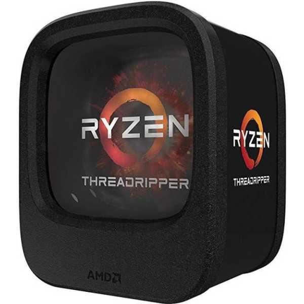 AMD Ryzen ThreadRipper 1900X 8 Core Processor - Black