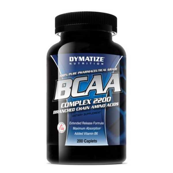 Dymatize Nutrition BCAA Complex 2200 (200 Caplets)