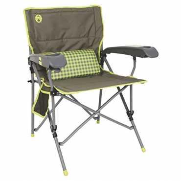 Coleman Vertex Ultra Hard Arm Chair - Yellow