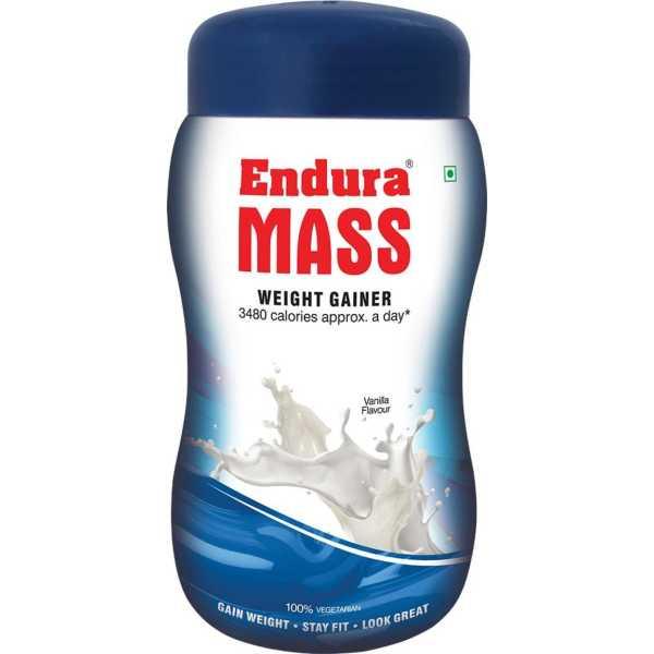 Endura Mass Weight Gainer (1 Kg,Vanilla)