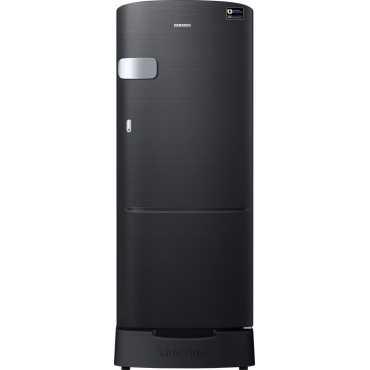 Samsung RR20M1Z2XBS/HL 192L 5S Single-door Refrigerator (Black Mirror VCM) - Black