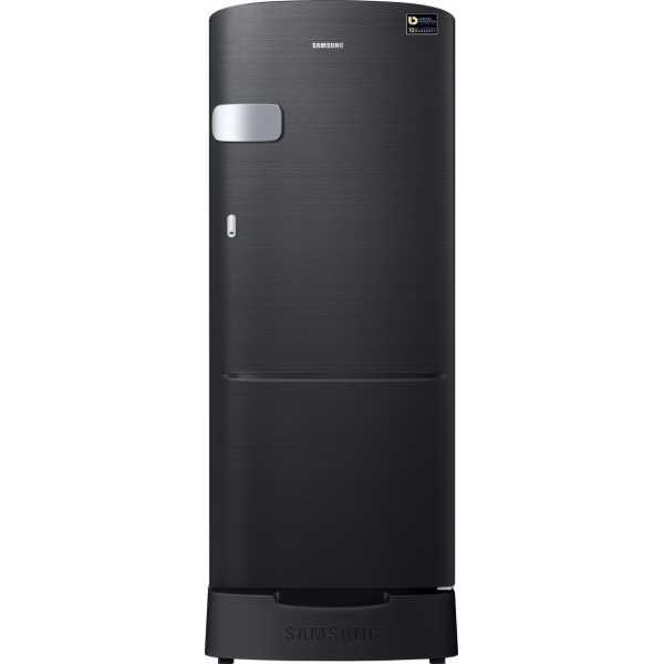 Samsung RR20M1Z2XBS HL 192L 5S Single-door Refrigerator Black Mirror VCM