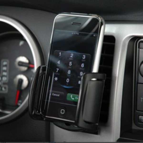 Bracketron PHM-201-BL Vent Mobile Car Kit - Black