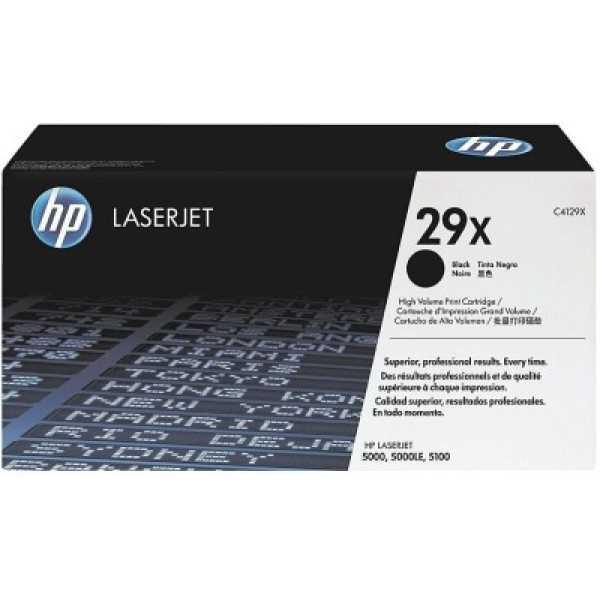 HP 29X Black LaserJet Toner Cartridge