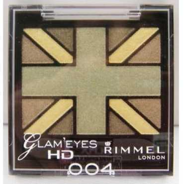 Rimmel Glam Eyes Quad Eye Shadow (Green Park-004) - Green