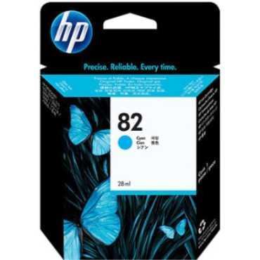 HP 82 69-ml Cyan Ink Cartridge - Blue