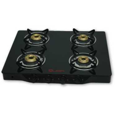 Quba B4 Black Top Automatic Gas Cooktop 4 Burners