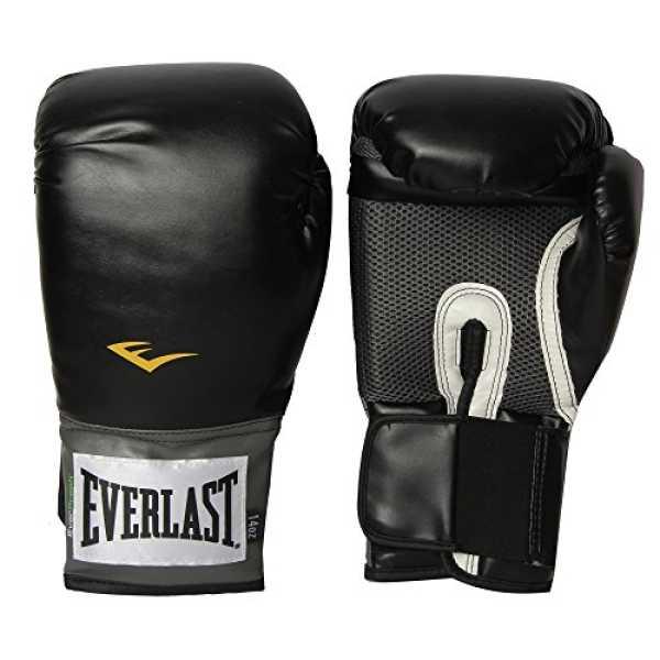 Everlast 1200014 Pro Style Training Gloves - Black