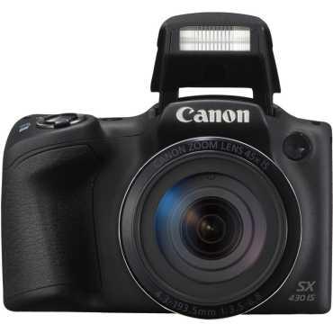 Canon PowerShot SX430 IS Digital Camera - Black