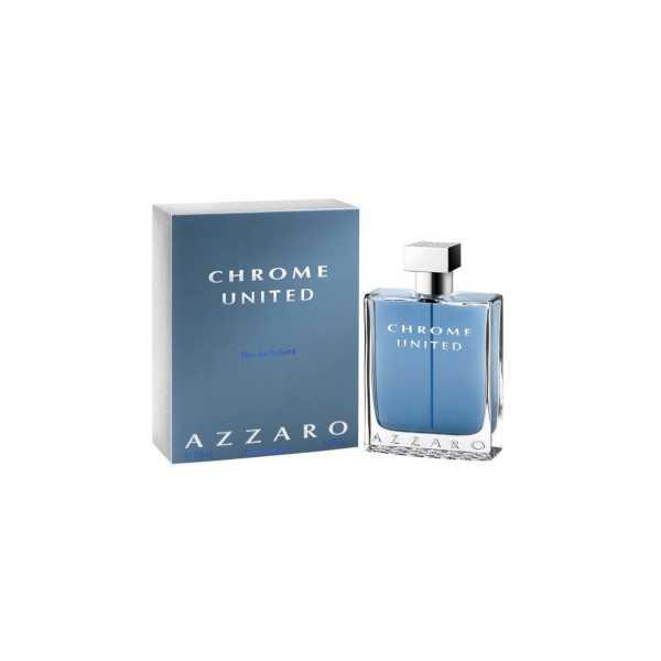 Azzaro Chrome United EDT - 100 ml - Silver