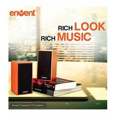Envent TrueWood 210 Speakers - Brown