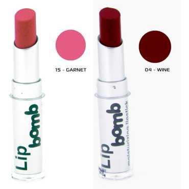 Color Fever Matte Lipstick 04-15 Wine Garnet Set of 2