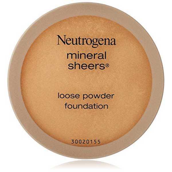 Neutrogena Mineral Sheers Loose Powder Foundation (Honey Beige 70)