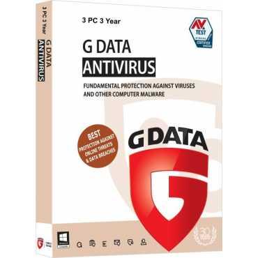 G Data Antivirus 3 PC 3 Year Antivirus