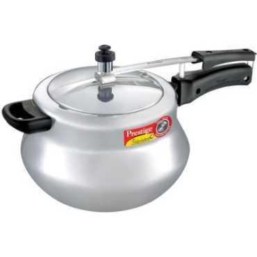 Prestige 11658 Aluminium 6 5 L Pressure Cooker Induction Bottom Inner Lid