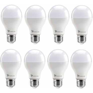 Syska 18 W Standard E27 1800L LED Bulb (White,Pack of 8) - White
