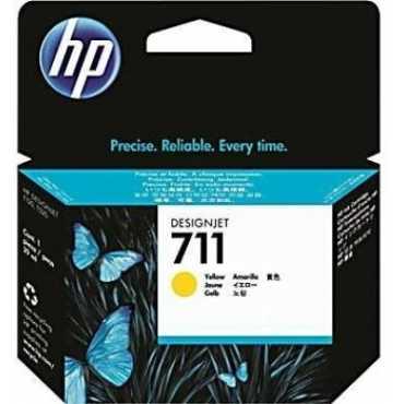 HP 711 Yellow Ink Cartridge - Yellow