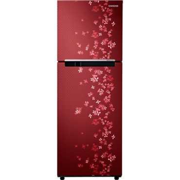 Samsung RT28K3082RY 2S 251 Litres Double Door Refrigerator (Sanganeri Ring) - Sanganeri Ring Red