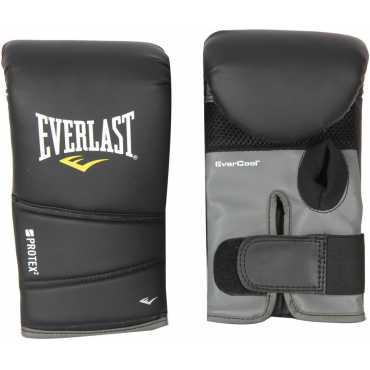 Everlast Protex Boxing Gloves (Large) - Black
