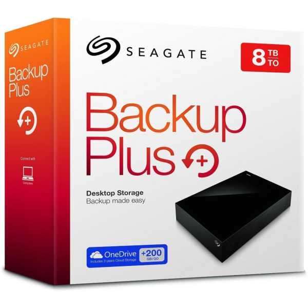 Seagate Backup Plus (STDT8000300) 8 TB external hard disk