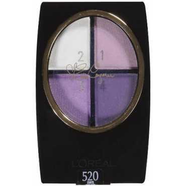 Loreal Paris Wear Infinite Star Secrets Quads Eye Shadow (Evas Violets) - Violet