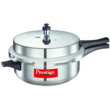 Prestige Popular Plus Senior Deep Aluminium 6 L Pressure Cooker (Induction Bottom, Outer Lid)