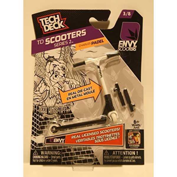 Envy Tech Deck Series 2 Scooters (3/8) - Black