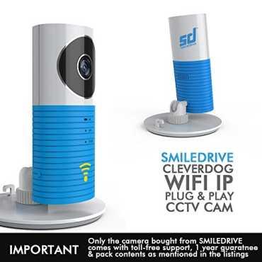 Smiledrive Cleverdog World's Smartest Plug & Play IP Camera - Blue
