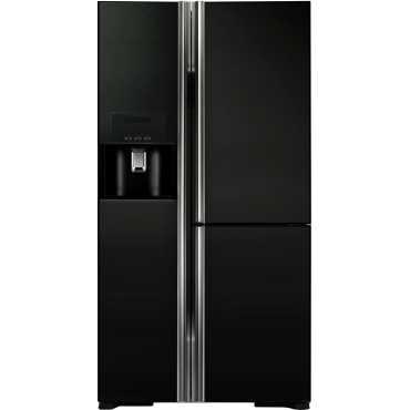 Hitachi R-M700GPND2 651 Litres Side by Side Door Refrigerator - Black
